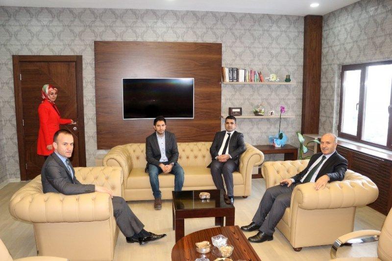 Bitlis Milli Eğitim Müdürü Korkmaz'dan, Ağrı İl Milli Eğitim Müdürü Tekin'e ziyaret