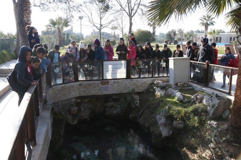 Pamukkale'de binlerce öğrenci tarihini tanıdı