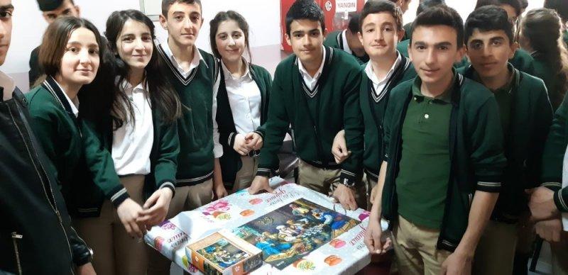 İran sınırında yapboz yarışması