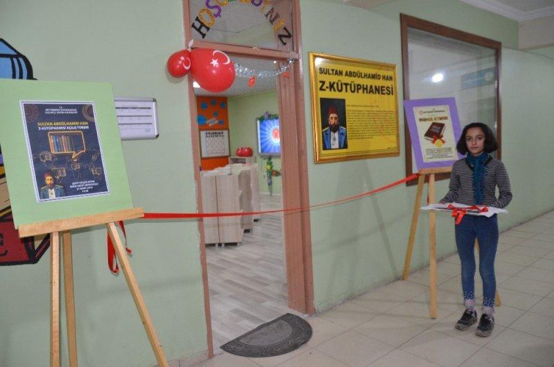 Beytüşşebap'ta tam donanımlı kütüphane açıldı