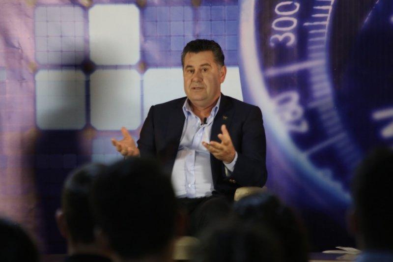 Mehmet Kocadon üniversitelilerle buluştu