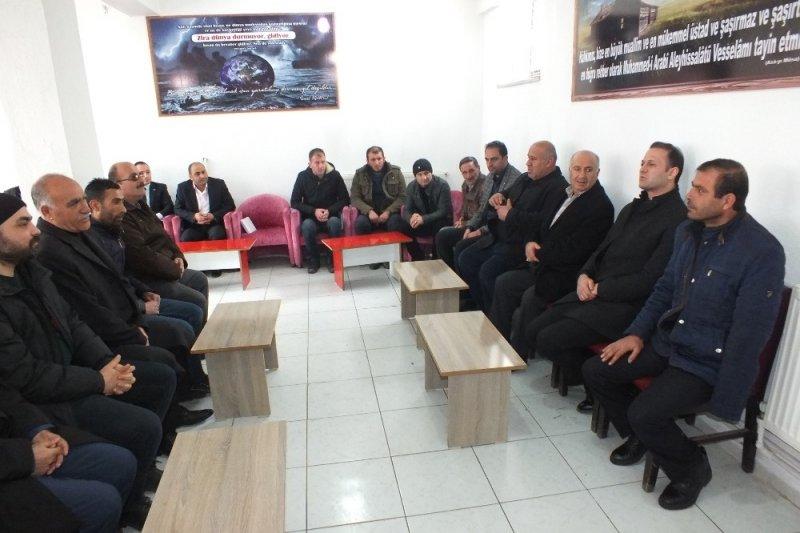Kaymakam Yalçın'dan mahalle ziyaretleri
