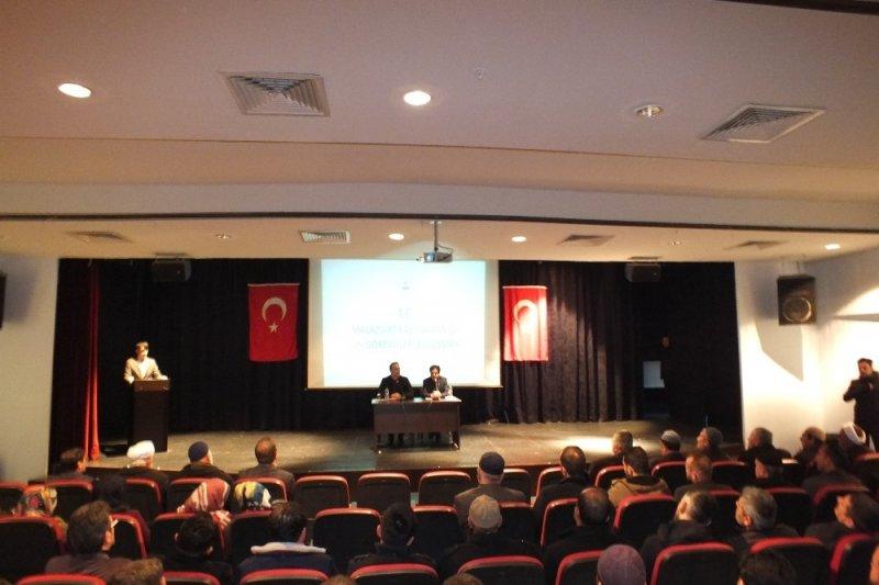 Malazgirt'te din hizmetleri istişare toplantısı