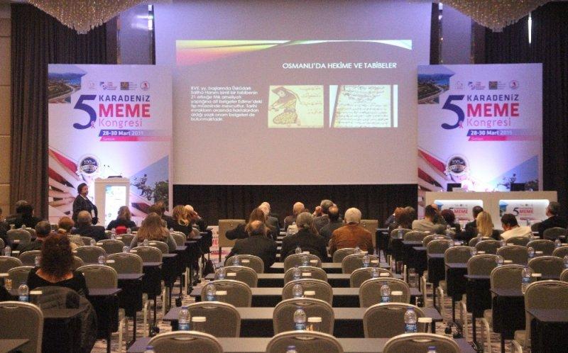 """""""5. Karadeniz Meme Kongresi"""" başladı"""