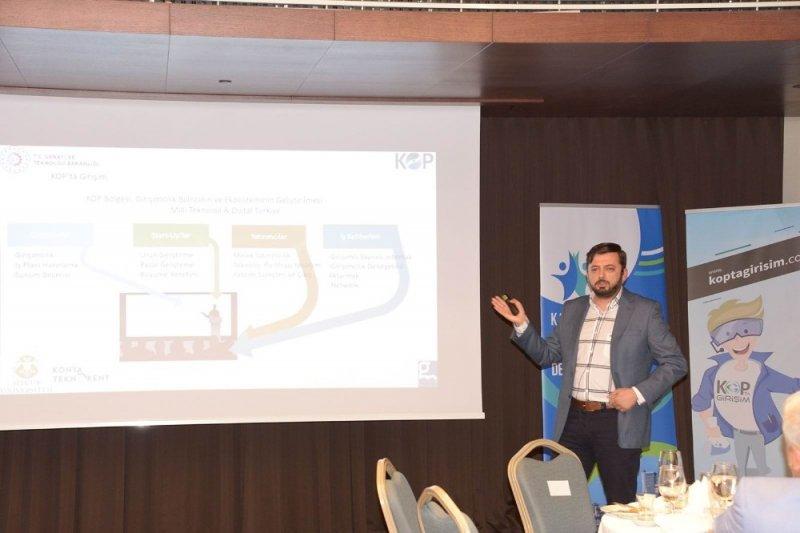 Kop'ta Girişim Projesi Melek Yatırımcılık Lansman toplantısı düzenlendi