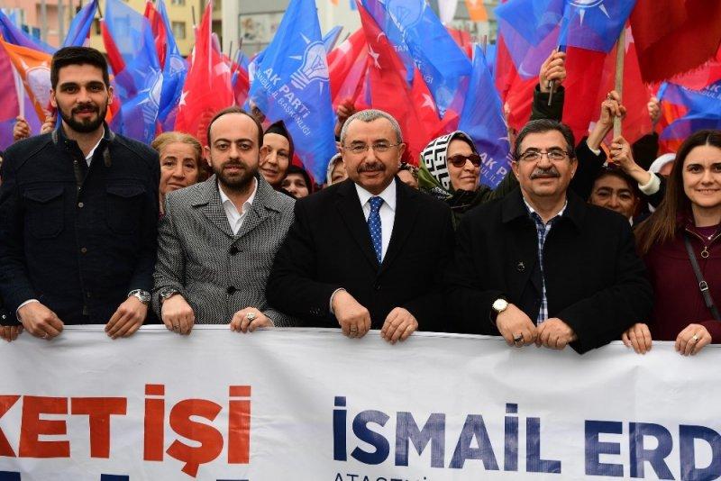 """İsmail Erdem: """"Ataşehir'de altyapı ve üstyapı kadar, hatta daha da fazla 'insana yatırım' yapacağız"""""""