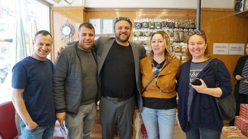 Serkan Yazıcı seçim çalışmalarına devam ediyor