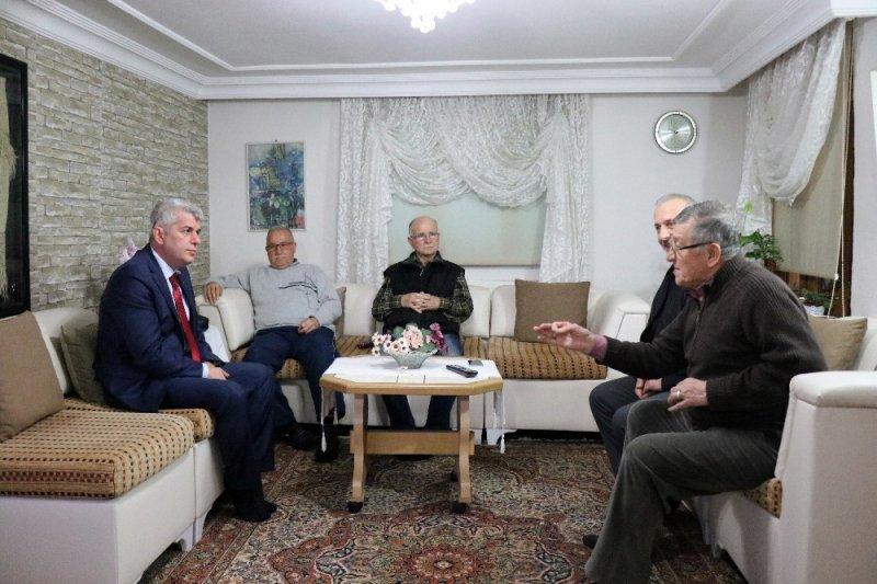 Dr. Arslan, Ozanlar'da davul zurnayla karşılandı