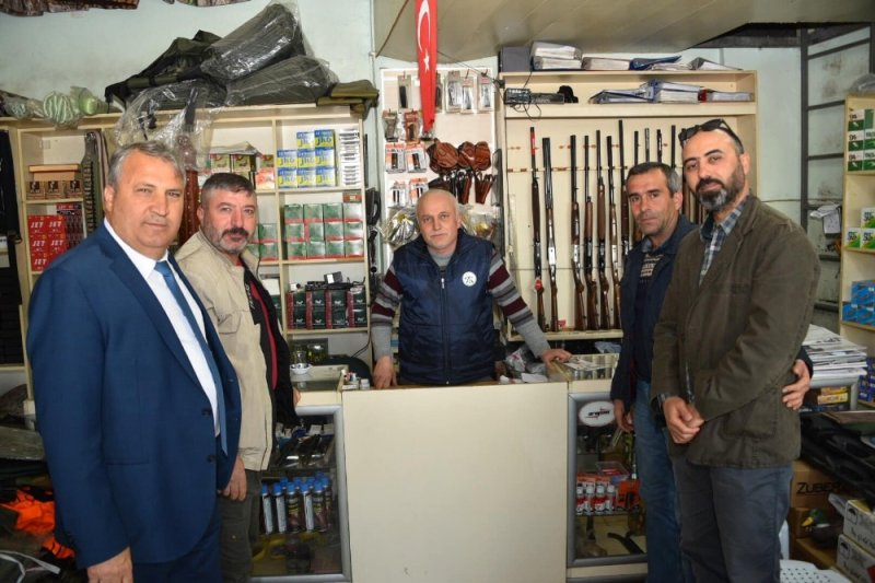 Başkan Çerçi çalışmalarını aralıksız sürdürüyor