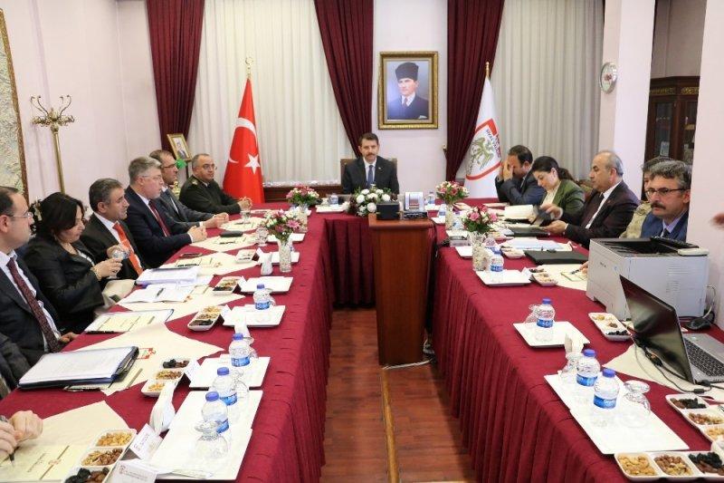 Sivas'ta il seçim güvenliği toplantısı yapıldı