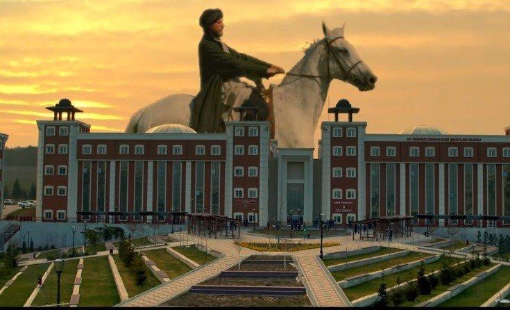 Cumhurbaşkanı Erdoğan'ın kendi sesiyle hazırlanan videoda Bilecik'e de yer verildi