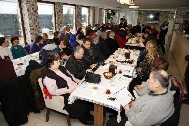 Ebubekir Taşyürek, MHP ilçe teşkilatıyla kahvaltıda buluştu