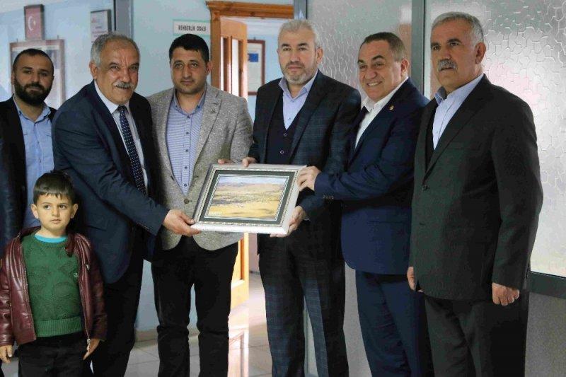 AK Parti Muş Milletvekili Mehmet Emin Şimşek Varto'da