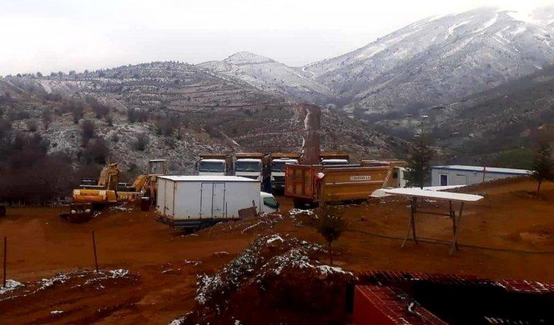 Alaşehir'e kar sürprizi