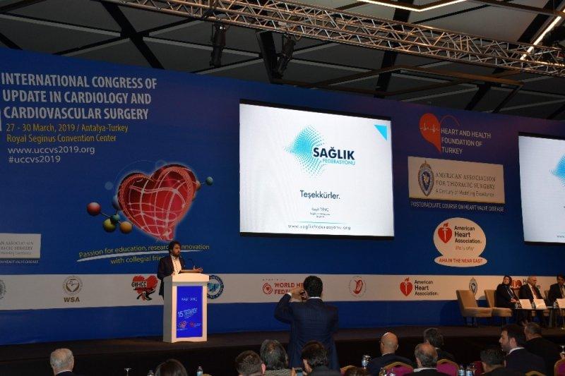 """Sağlık Federasyonu Başkanı Dinç: """"Milli inovasyon için hekim ve mühendisleri bir araya getireceğiz"""""""