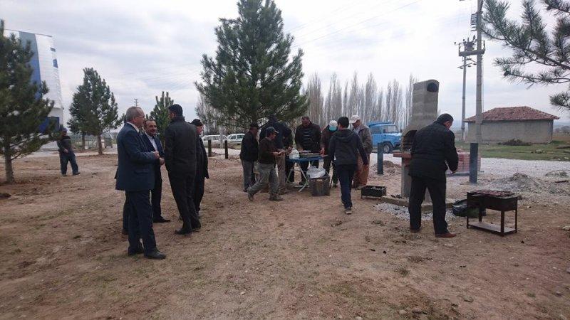 Aslanapa'da 3 bin 500 metrekarelik mesire alanı törenle açıldı