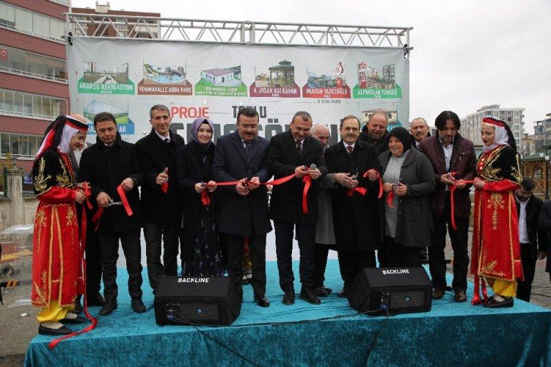 Atakum'da 28 proje için toplu açılış