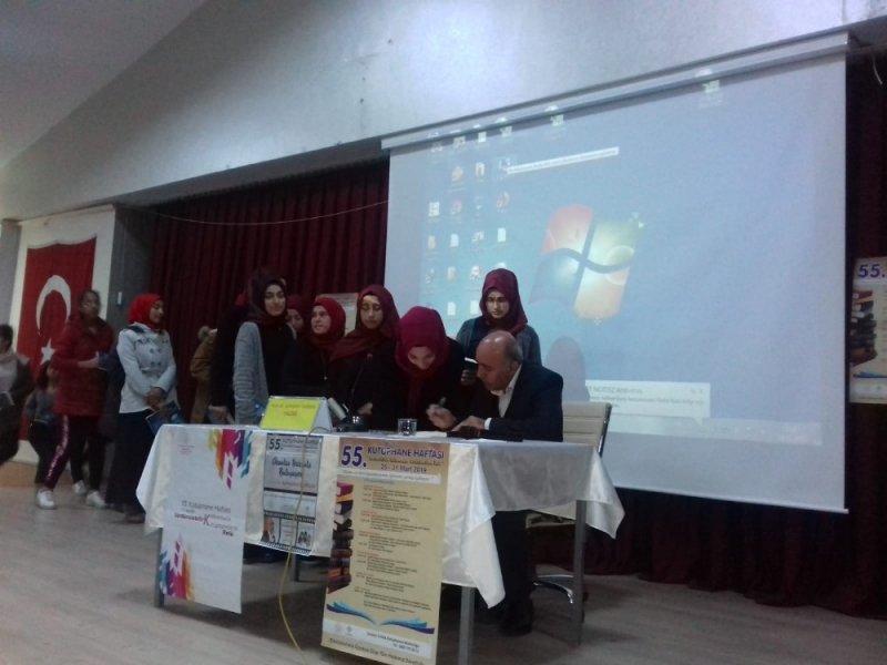 Gercüş'te 55. Kütüphane Haftası etkinlikleri