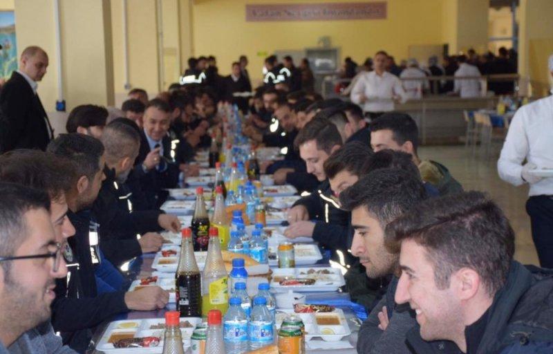 Vali Çağatay'dan polis adaylarına ziyaret