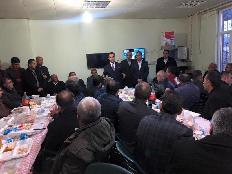 Belediye çalışanlarından Başkan Vekili Alibeyoğlu'na veda yemeği