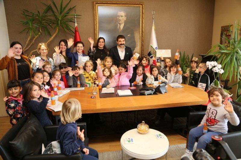 Öğrencilerden Bodrum Belediyesine ziyaret