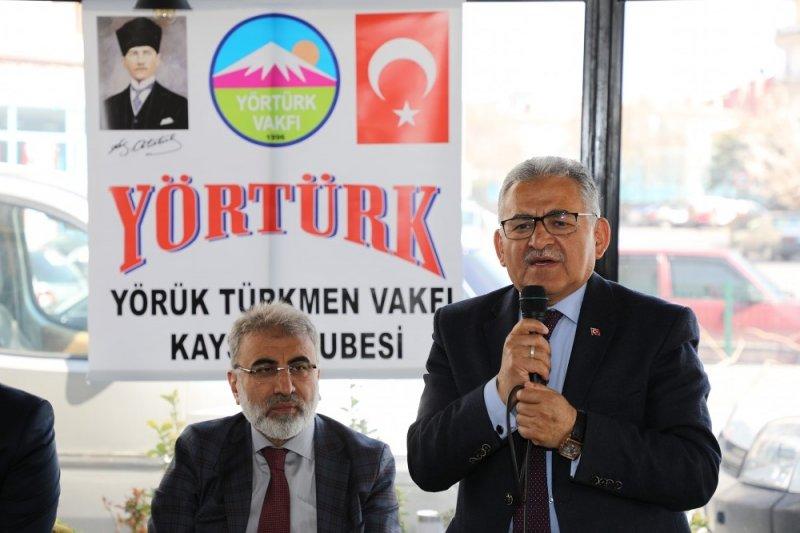 """Başkan Memduh Büyükkılıç: """"""""Yörük ve Türkmenlerin kültürleri, Anadolu'nun birliktelik harcıdır"""""""