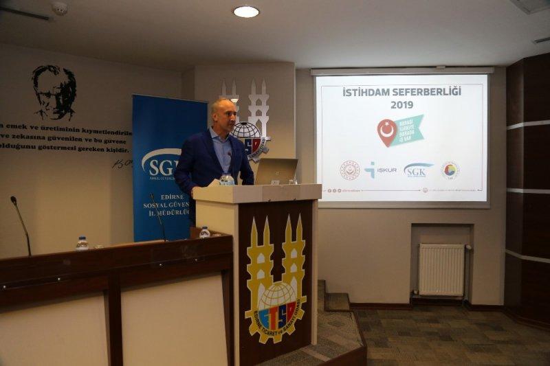 ETSO'da 'İstihdam Seferberliği' toplantısı