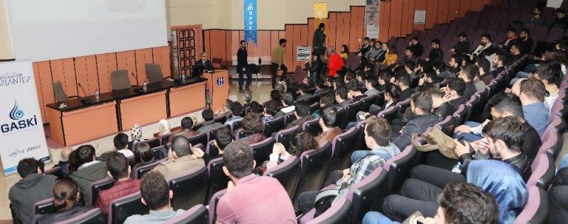 GAÜN'de Gaziantep'te suyun öyküsü konferansı
