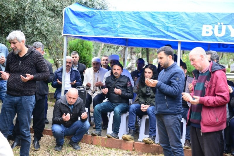 Murat Kekilli'nin babası Adana'da toprağa verildi
