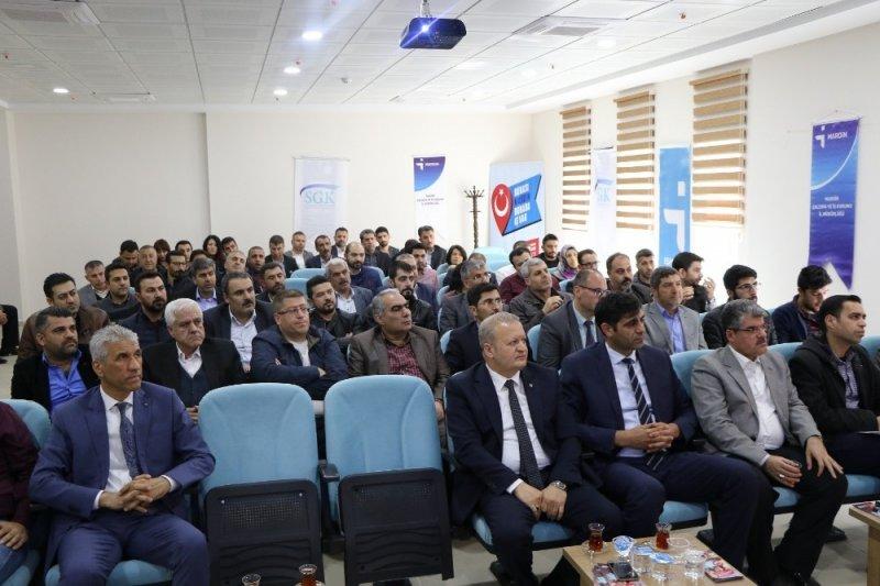 Mardin'de istihdam teşvik toplantıları devam ediyor