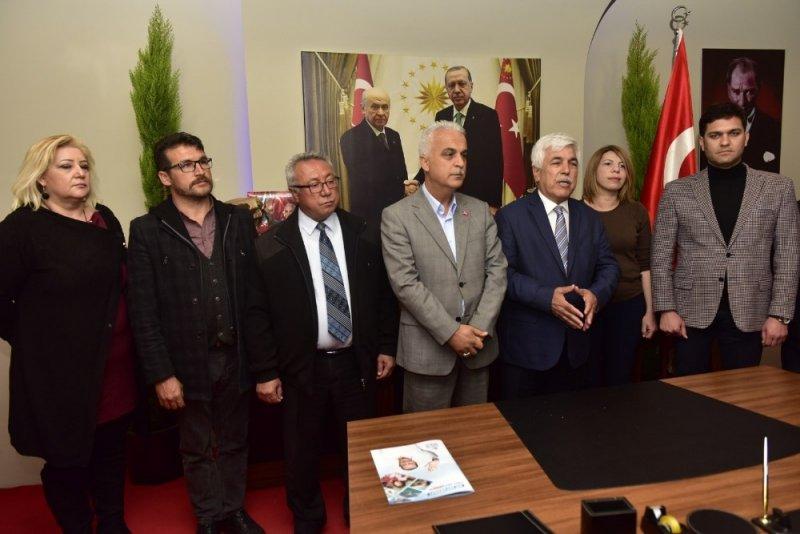 İyi Parti'li kurucular MHP saflarına katıldı