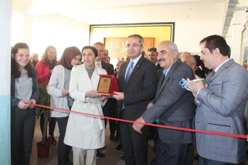 Tosya'da 8. Kütüphane açıldı