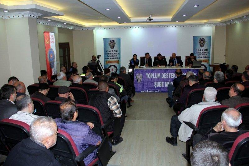 Melikgazi'de 'Huzur Toplantısı' yapıldı