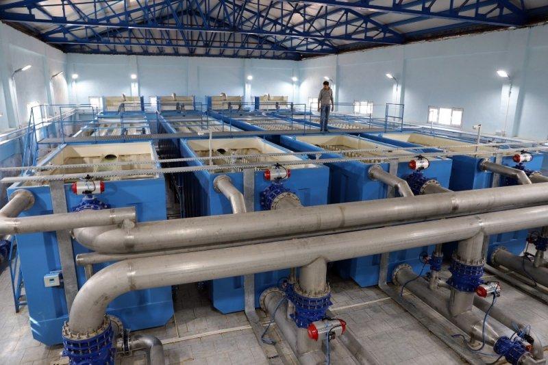 Derik içme suyu arıtma tesisi vatandaşın hizmetinde