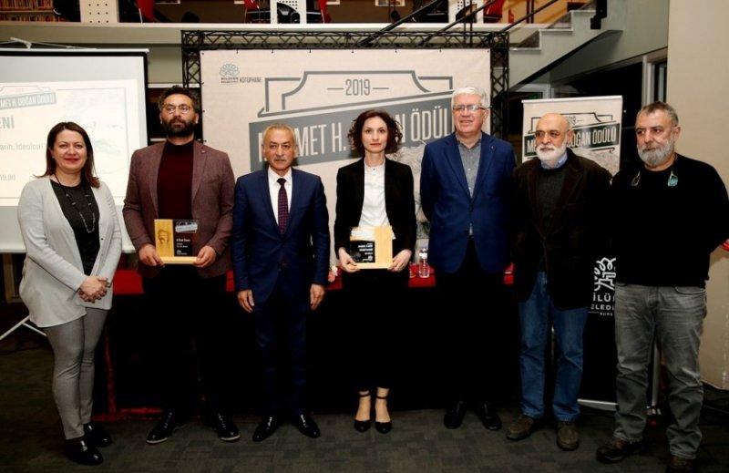 'Mehmet H. Doğan Ödülü'nün sahibi Özkarcı oldu