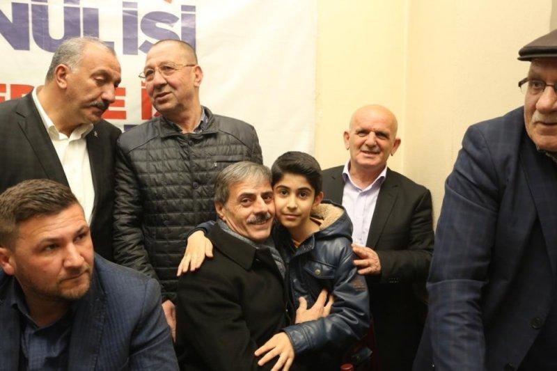 Başkan Alemdar, Arabacıalanı Mahallesi'nde projelerini anlattı