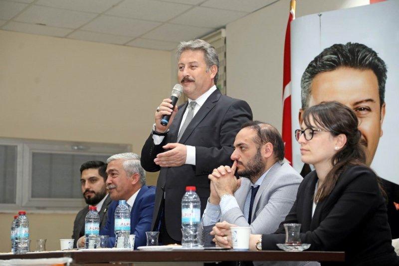 """Başkan Palancıoğlu: """"Türkiye'ye örnek çalışmalar yapacağız"""""""