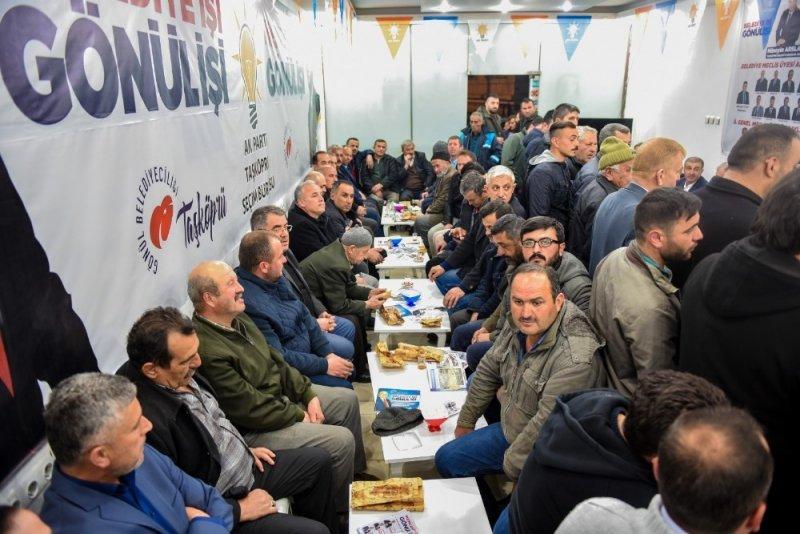 """Başkan Arslan: """"Taşköprü'de 2-3 sene sonra işsizlik konuşulmayacak"""""""