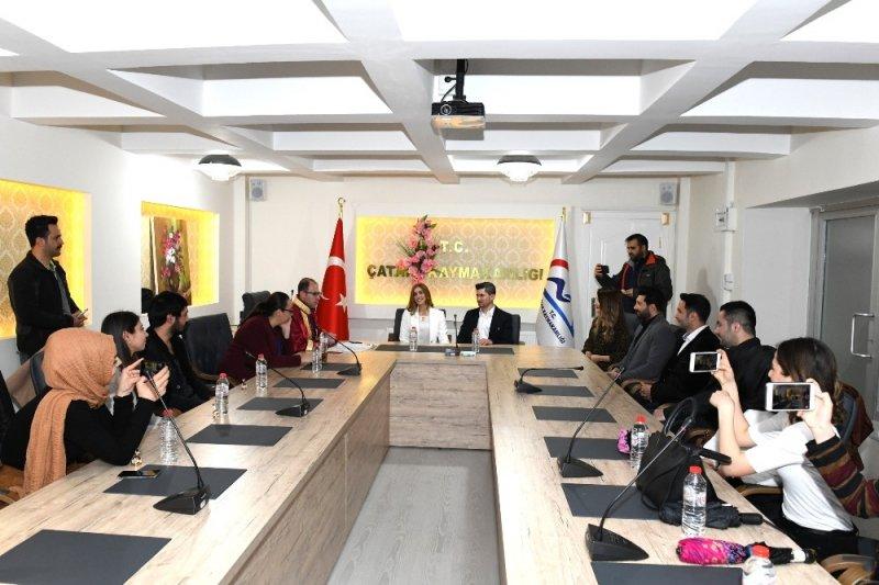 Kaymakam ve Başkan Vekili Türkmen nikâh kıydı