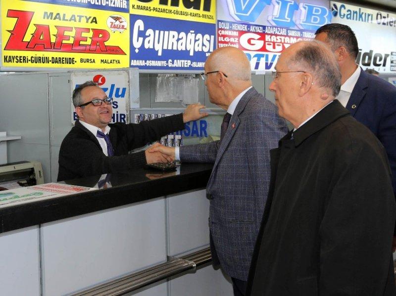Başkan Yaşar'dan AŞTİ ziyareti