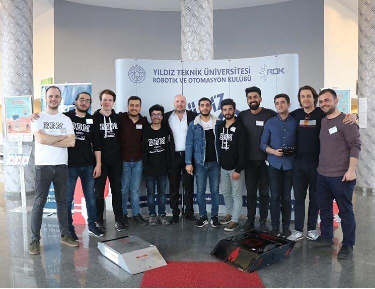 Bingöl Üniversitesi öğrencileri, robot yarışında 4. oldu