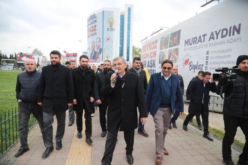 Murat Aydın'dan Beykoz'da dev sevgi yürüyüşü