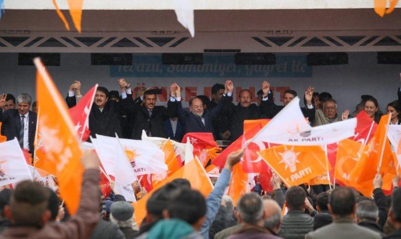 Akdağ Hınıs ve Tekman'da seçmene seslendi: