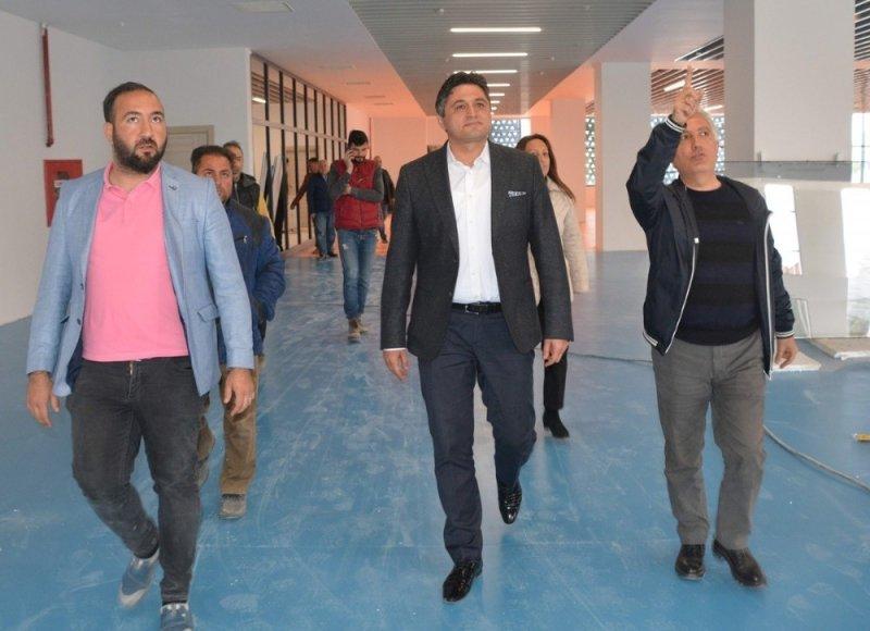 Aliağa Gençlik Merkezi'nin açılışına sayılı günler kaldı