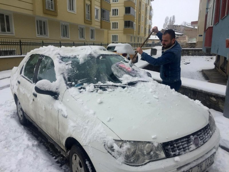 Erzurum baharda kara teslim
