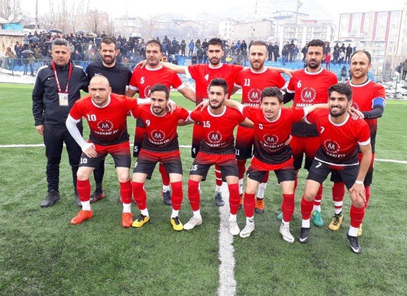 Hakkari Sportif Faaliyetler Kulübü lig şampiyonu oldu