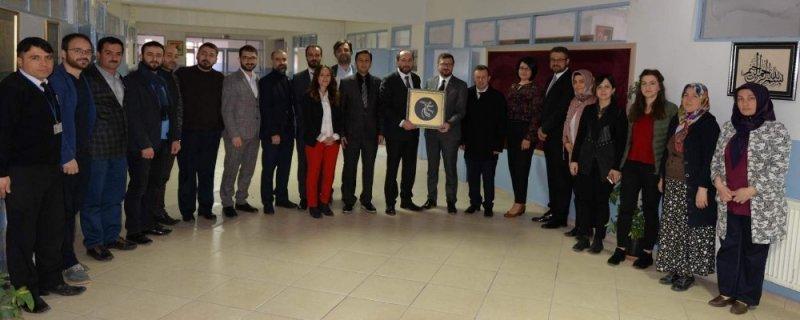 Rektör Alkan Bayat ve İskilip'i ziyaret etti