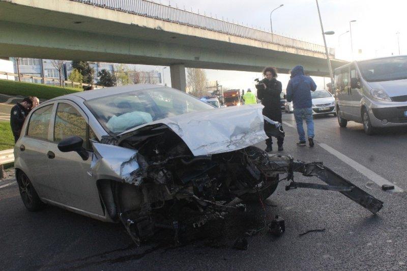 D-100 Karayolu Cevizlibağ mevkinde trafik kazası; 2 yaralı