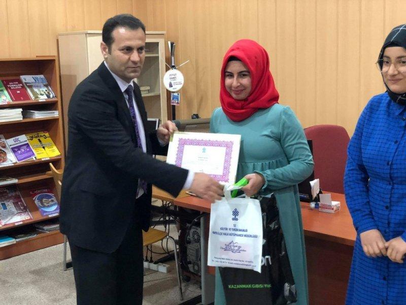 Kahta'da 55. kütüphane haftası kutlanıyor