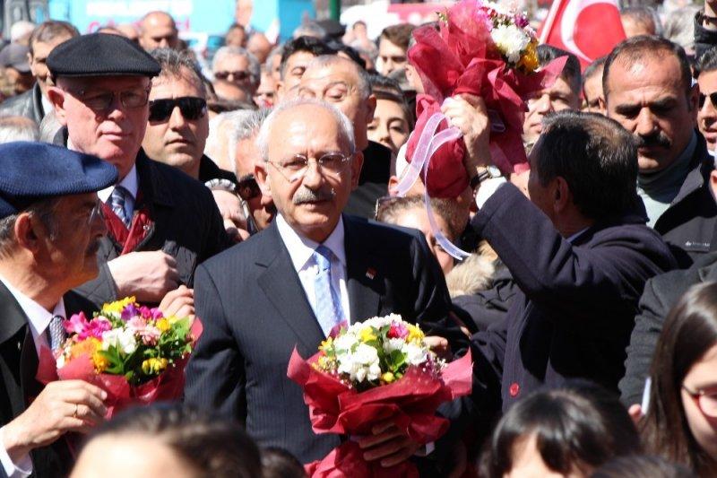 CHP lideri Kılıçdaroğlu, Eskişehir'de Bahar Yürüyüşü'ne katıldı